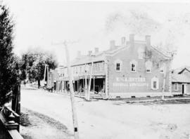 Copy of photo of W. and A. Snyder General Merchants in St. Jacobs, Ontario