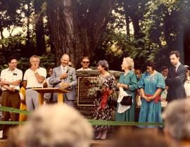 Bicentennial celebrations July 1, 1986 at First