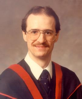 CMBC Graduation photo of Harold Schlegel (color)