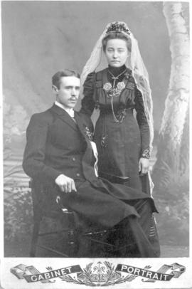 A wedding portrait