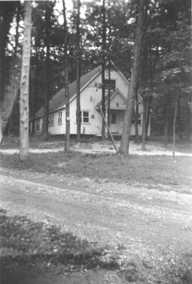 Chapel at Chesley Lake, dated Aug. 27, 1954