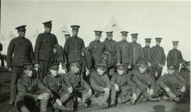 118th Battalion men in London