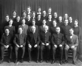 OMBS graduates and faculty, 1940