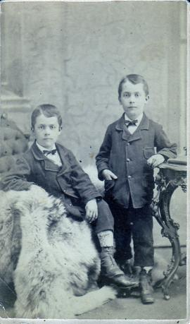 John and Jacob Cassel, twin sons of Adam and Anna