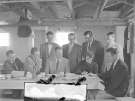 Executive of the Alberta Mennonite Youth Organization, 1959