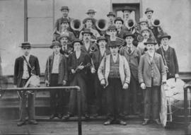 Copy of St. Jacobs band in the 1890s, St. Jacobs,