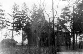 A Mennonite Church opposite Grudenz (Grudziadz?),