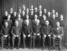 OMBS faculty and graduates, 1940