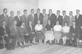 Canadian students at Goshen College, 1957.