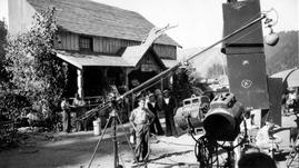"Filming of ""The Commandos Strike at Dawn"""