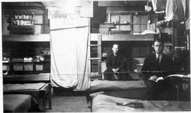 Alternative Service workers in bunk house