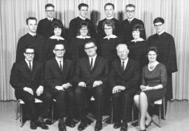 Graduates & faculty of Elim Bible School in 1965