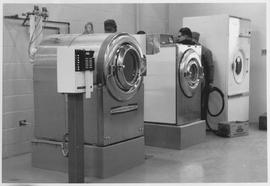 Automatic washers at Mennonite Nursing Home in Rosthern, Saskatchewan