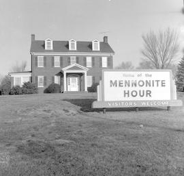 """Home of the Mennonite Hour"""