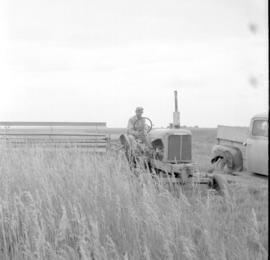 Two views of harvesting