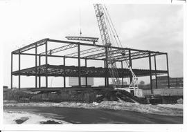 Construction of the Conrad Grebel College
