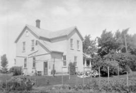 Abraham and Catharine Bowman's home in Elmira,
