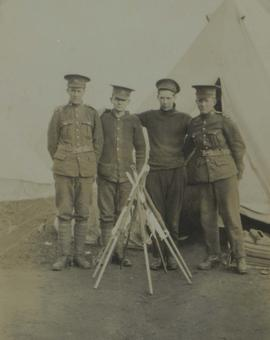 118th Battalion signallers