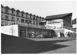 Conrad Grebel College in November, 1993 showing
