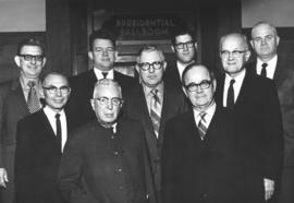 Mennonite Central Committee executive, 1971