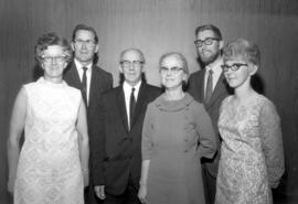 Agnes and Ed Driediger, Jesse B. and Naomi Martin, Howard and Ruby Otterbein