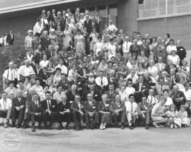 .Some of the over 400 foreign delegates to Mennonite World Conference, 1962