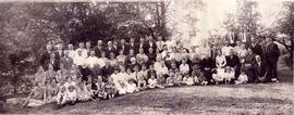 Bergey family reunion, Mannheim, Ontario, July 7