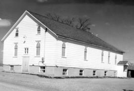 Poole Mennonite Church after renovation in 1947
