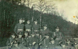 118th Battalion men, 1915