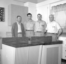 Four salesmen of the factory operated by E.R. Nafziger