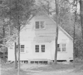 Chapel building at Chesley Lake Camp