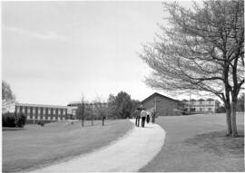 CGC residence  building & chapel shown from