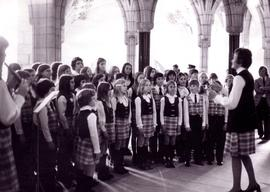 Inter-Mennonite Childrens Choir with Helen