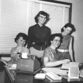 Mennonite Brethren office staff in Hillsboro