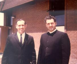 Herb Schultz (Left) and Myron Augsburger on
