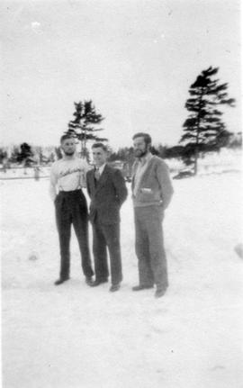 Three fathers at Montreal River Alternative Service Camp