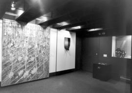 "L-R: Painting ""Theatre in Black and White and"