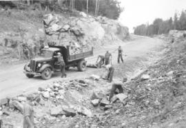 Alternative Service work on the Trans-Canada Highway