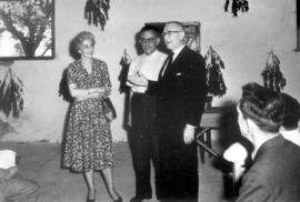10th anniversary of the colony in 1960. L-R: Wife