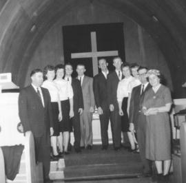 Canadian Mennonite Bible College students