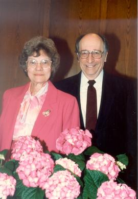 Richard and Ruth Yordy, pastor of St. Jacobs