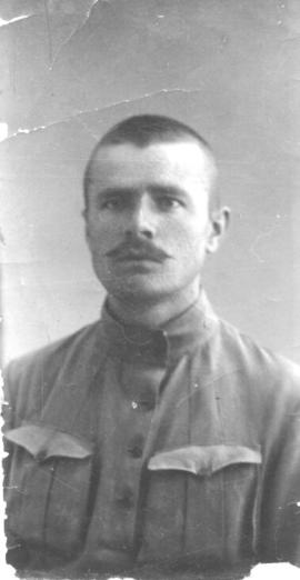 Abraham P. Regier in Red Cross uniform