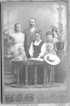 Peter Gerhard and Sara Rempel family