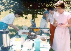 Rockway Mennonite Church fellowship picnic at