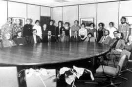 Conrad Grebel College Faculty and Staff in 1978.