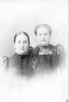 Esther Reesor Grove and Mary Reesor
