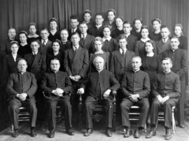 OMBS faculty and graduates, 1941