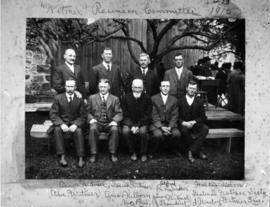 Copy of Witmer Reunion Committee from reunion on June 23, 1915