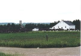 (Colour) Old Order Mennonite Church at Linwood,