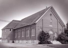 Elmira Mennonite Church in Elmira, Ontario.